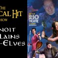 Benoit the cleric (Ian Boothby) is a Half-Elf. He explains what that means to the rest of the party. The next Critical Hit Show is Wednesday, December 18th at The […]