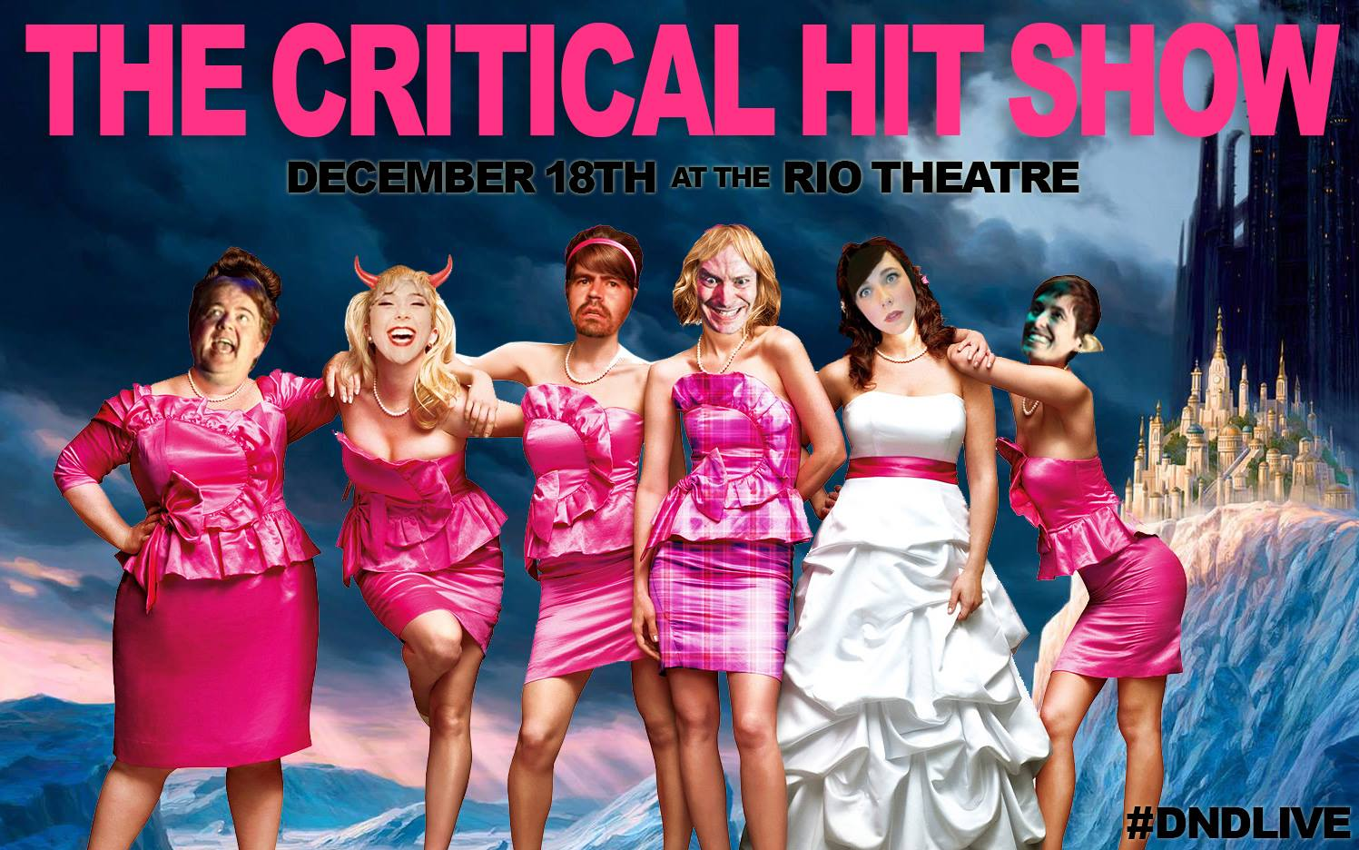 critical hit show bridesmaids